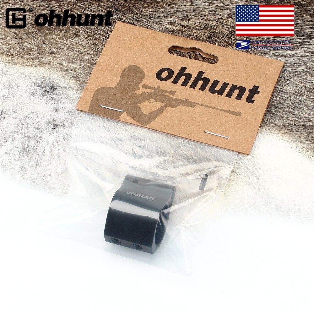 SHIP FROM USA Ohhunt Aluminum Gas Block Low Profile Set Screw Standard Barrel 0.750 Inch Inside Diameter AR15 Accessories