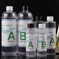 200g400g1000g 11 ab epoxy resin crystal high transparency resin glue for diy porcelain painting resin crafts