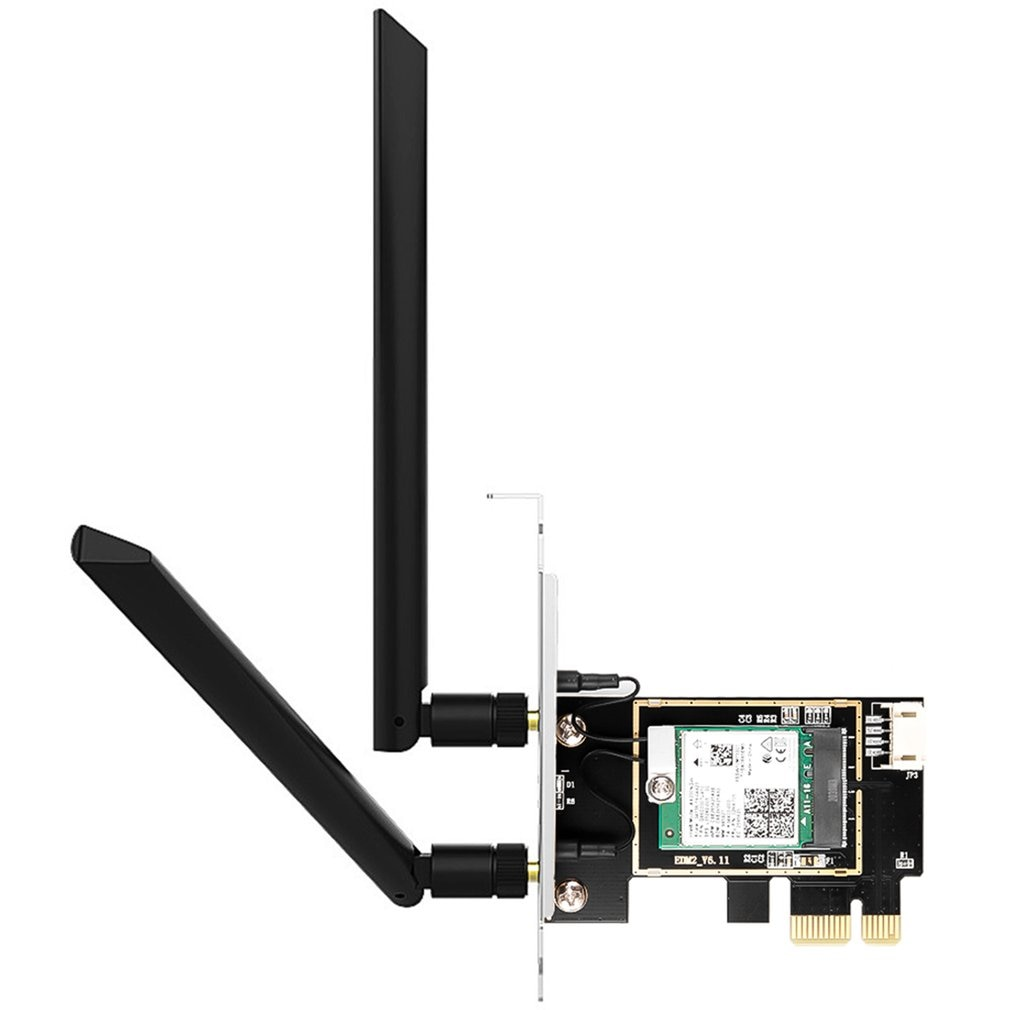 Dual band 3000Mbps Wifi Intel AX200 PCIe Wireless Wifi Adapter 2.4G/5Ghz 802.11ac/ax Bluetooth 5.0 AX200NGW Wi-fi Card For PC