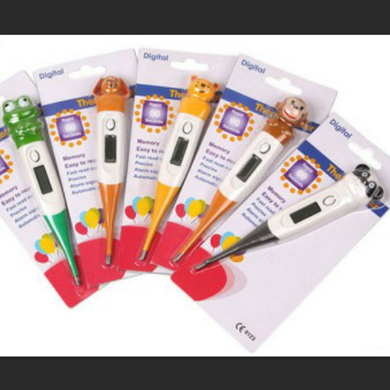 Cartoon Children's Infant Electronic Thermometer Oral Thermometer Adult Thermometer