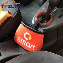 Для Smart 451 453 450 452 Fortwo Forfour Crossblade City купе родстер Coupe автомобильная сумка для хранения автостайлинг Органайзер держатель для телефона