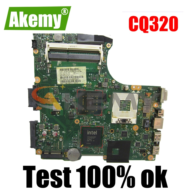 605748-001 605748-001 كمبيوتر محمول لوحة رئيسية لأجهزة HP CQ320 CQ420 مفكرة اللوحة GL40 DDR3