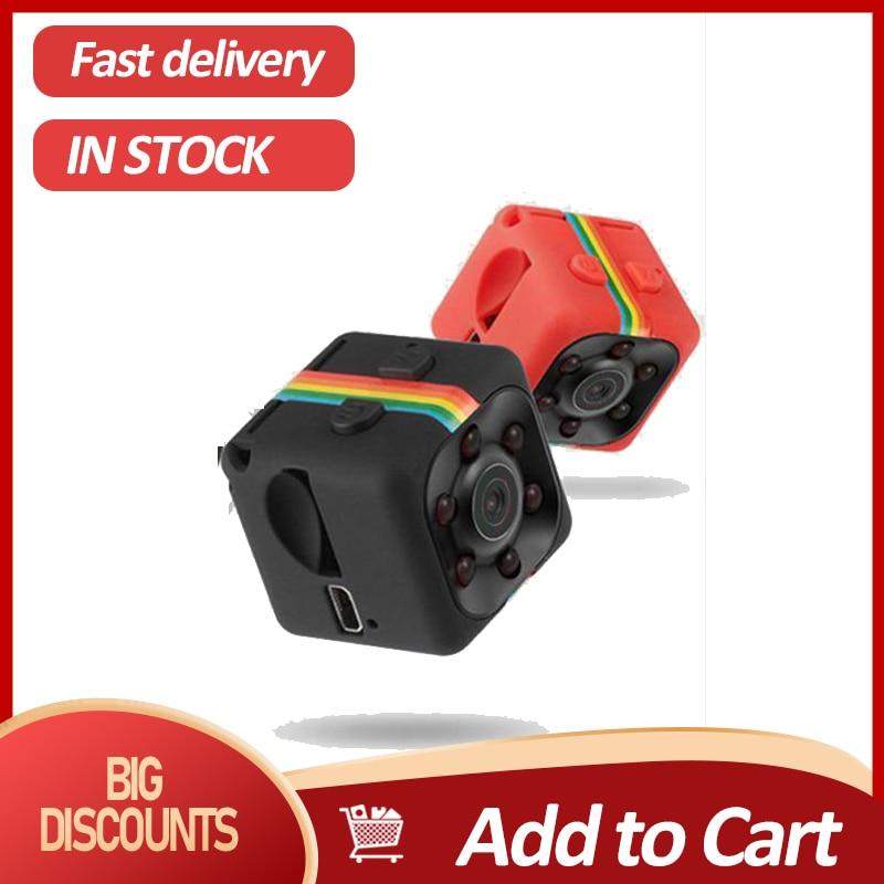 1080P SQ11 Mini cámara Espia Oculta Micro Video cámara Gizli pequeño DV...