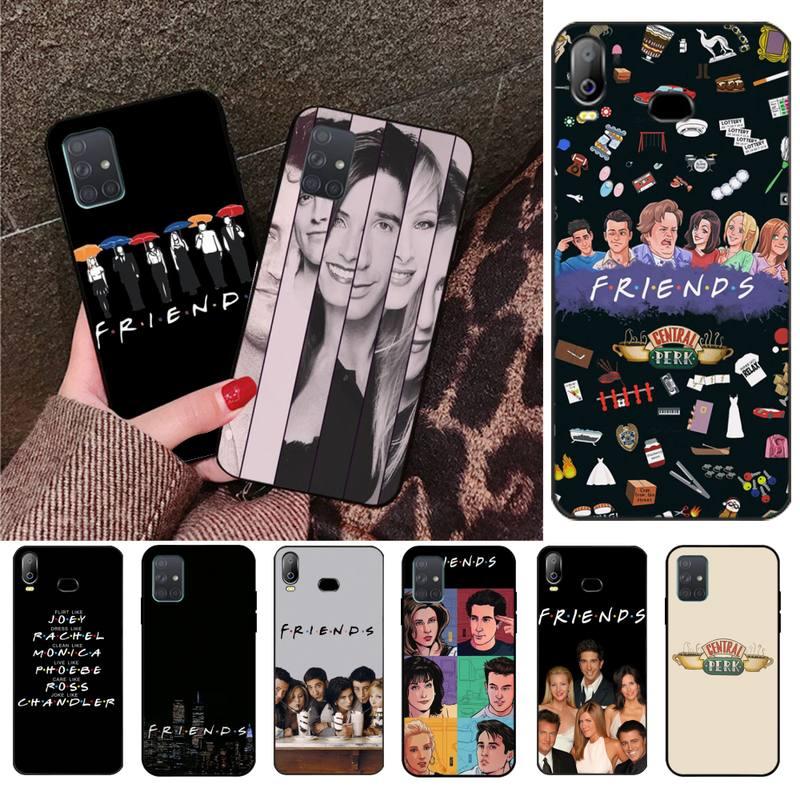 HPCHCJHM Friends Together DIY Luxury Phone Case For Samsung A10 A20 A30 A40 A50 A70 A71 A51 A6 A8 2018