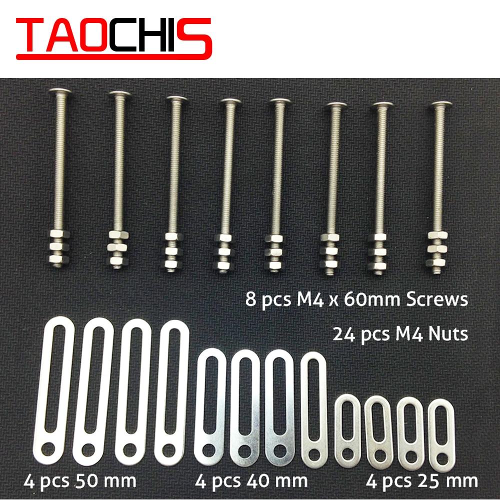 TAOCHIS Universal Head light Retrofit Tools Adapter Frame For Koito Q5 Hella Projector Lens Connect Plates 25/40/50mm Screws Nut