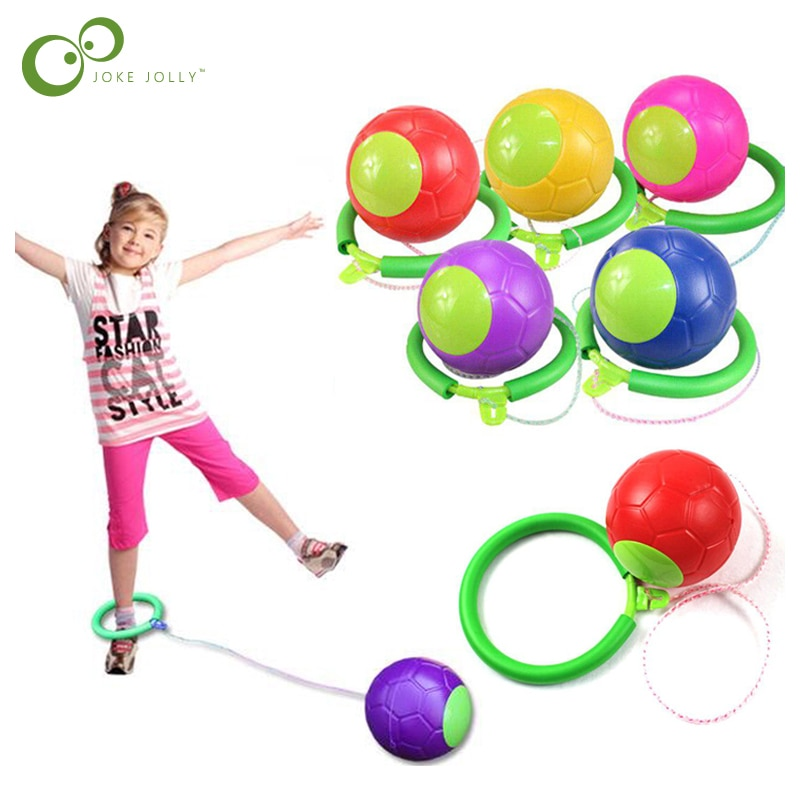 1PC Kip Ball Outdoor Fun Toy Ball Classical Skipping Toy Exercise coordination and balance hop jump playground may toy ball ZXH
