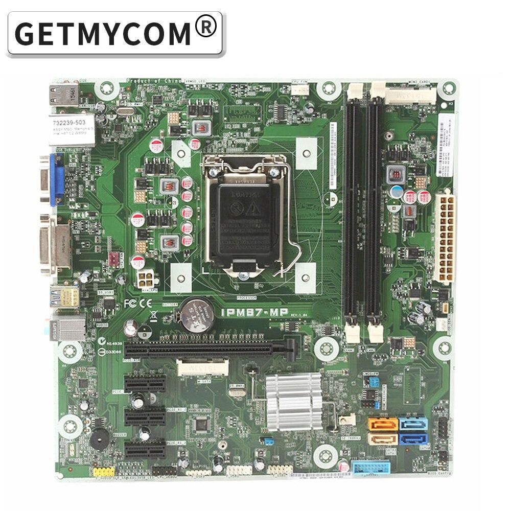 IPM87-MP REV:1.01 سطح اللوحة ل 85304-501 785304-001 785304-601 نظام مجلس DDR3 H87 اللوحة