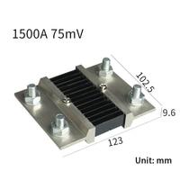 1PCS External Shunt FL-2B 1500A/75mV Current Meter Shunt resistor For digital ammeter amp voltmeter wattmeter
