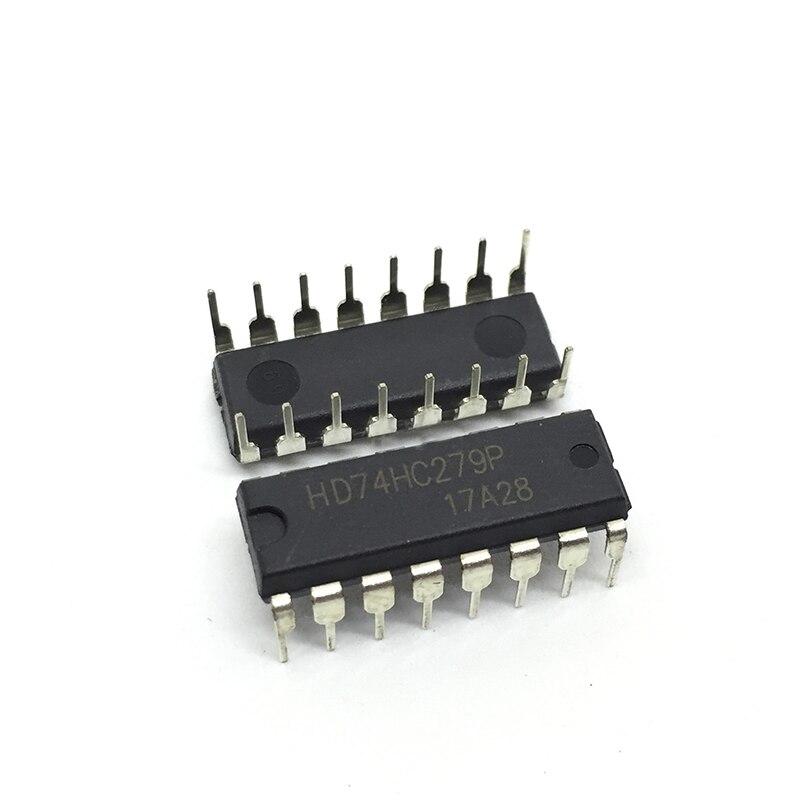 Nuevo 10 uds/50 uds/100 Uds HD74HC279P SN74HC279N 74HC279 DIP16 de circuito integrado