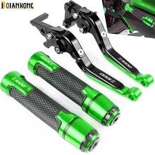 For Kawasaki Z1000 ABS 2003 2004 2005 2006 Motorcycle Accessories Brake Handle Adjustable Brake Clutch Levers Handbar End Grips