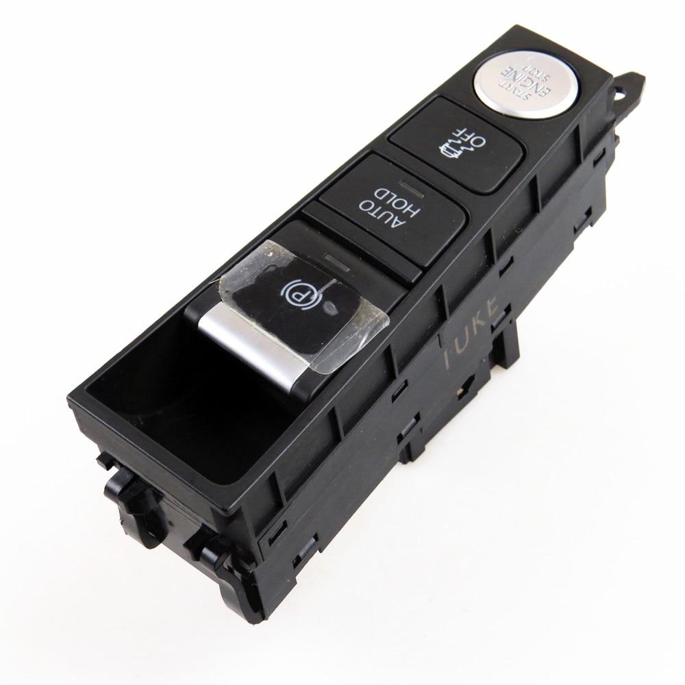 Rwsypl para passat b7 passat cc lhd freio de estacionamento auto hold botão partida do motor epb esp fora interruptor acessórios do carro 3ad 927 137