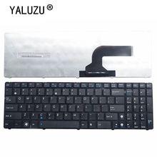YALUZU Nouveau Clavier Dordinateur Portable AMÉRICAIN Pour ASUS N61 N53 N73 G60 G51 G53 G72 K53 K73 K52 K72 X52 X55 X53 X54 X61 X75 P53 B53