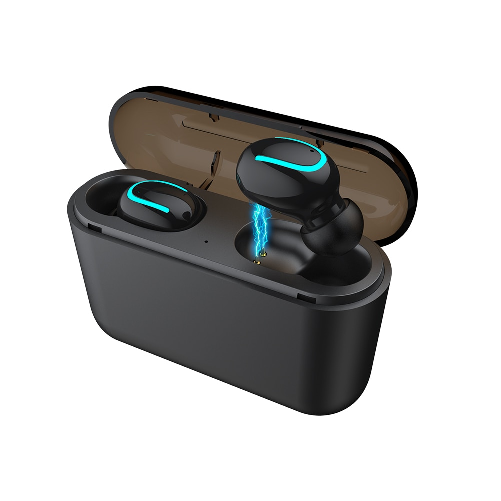 Sports headset Bluetooth headset hbq-q32 TWS auriculares wireless headset with charging case headset enlarge