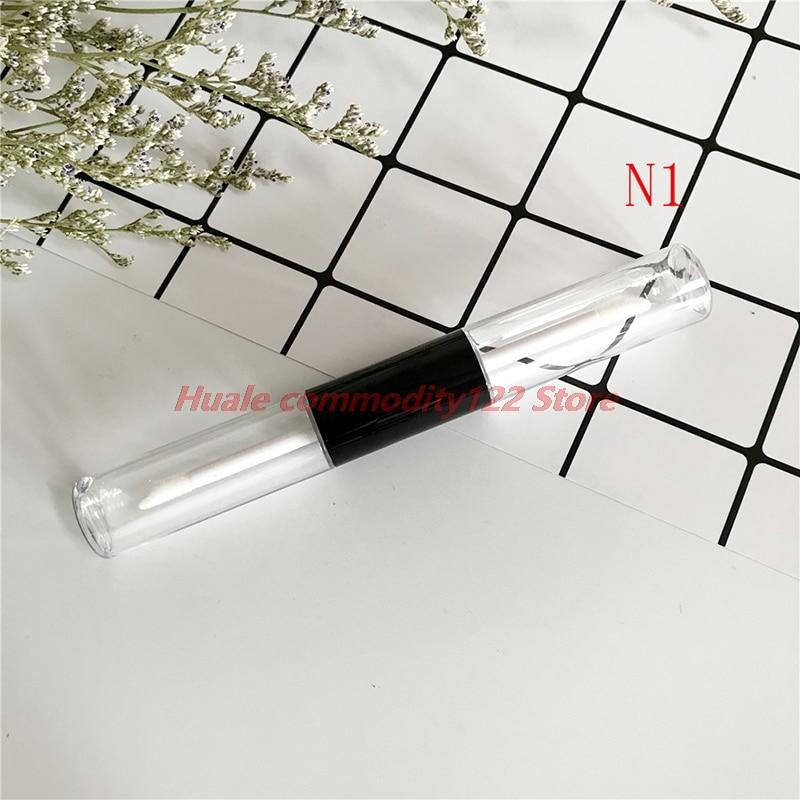 New Fashionable Diy Handmade Lip Glaze Pop Empty Double Tube Eyelash Eyeliner Liquid Refillable Bottle 13CM