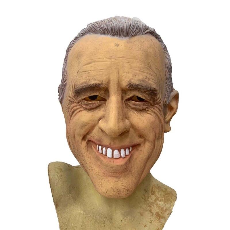 Realista celebridade eua republicano campanha presidencial máscara simulação joe biden cabeça cheia rosto capa halloween novidade