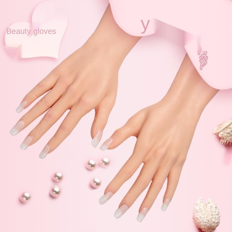 ذراع سيليكون للنساء ، مع تعديل إصبع مرن ، نموذج للبالغين ، أظافر صناعية قابلة للإزالة