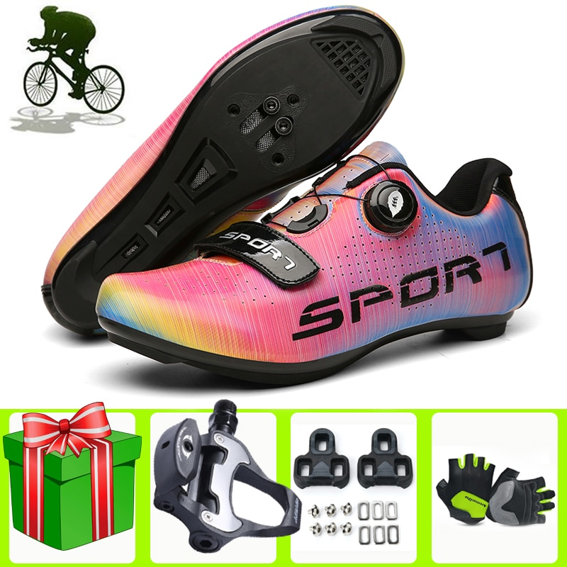 Road Bike Cycling Shoes Bicycle Sapatilha Ciclismo Women SPD-SL Competition Sneakers Men Sport Zapatillas Bicicleta Carretera