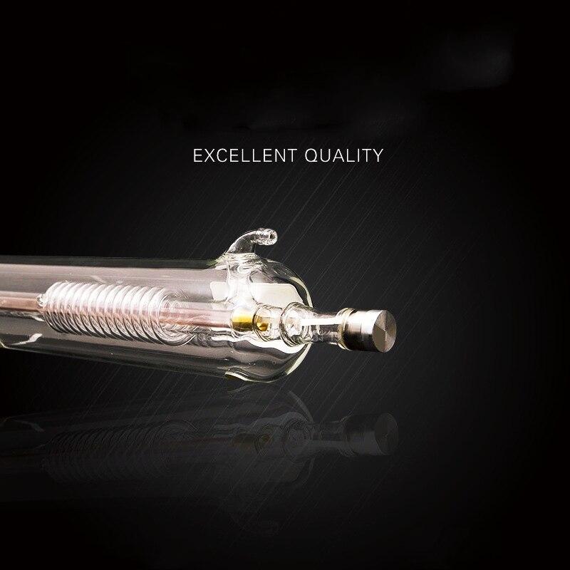 يبرز 50 واط Co2 ليزر ترقية المعادن أنبوبة رأسية 800 مللي متر أنبوب من الزجاج مصباح ل CO2 النقش بالليزر آلة قطع