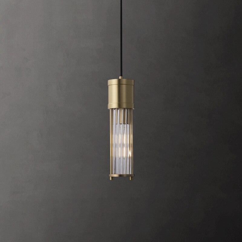 Latón dormitorio lámpara personalidad post-moderna luz mostrador bar lujo