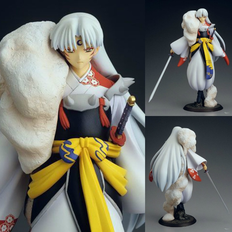 Figura coleccionable de PVC a escala 1/8 de Inuyasha kanketsu-hen Sesshoumaru, figura de juguete