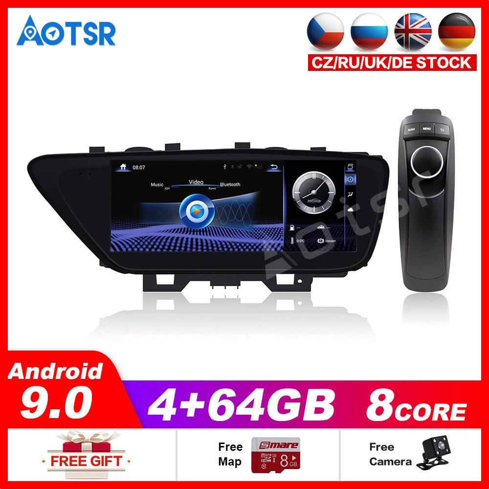 Lecteur multimédia de voiture stéréo GPS DVD Radio NAVI Navigation Android9 système décran pour Lexus ES XV60 ES250 ES300h ES350 2013 ~ 2018