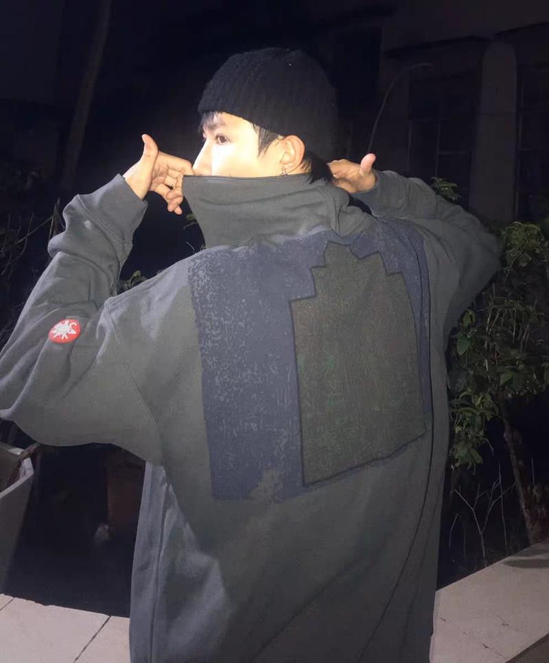 كنزة بغطاء للرأس 21ss CAVEMPT C. E ، سترة ريترو مع طباعة طوطم ، للرجال والنساء ، هاي ستريت جاستن بيبر ، سترة بغطاء للرأس