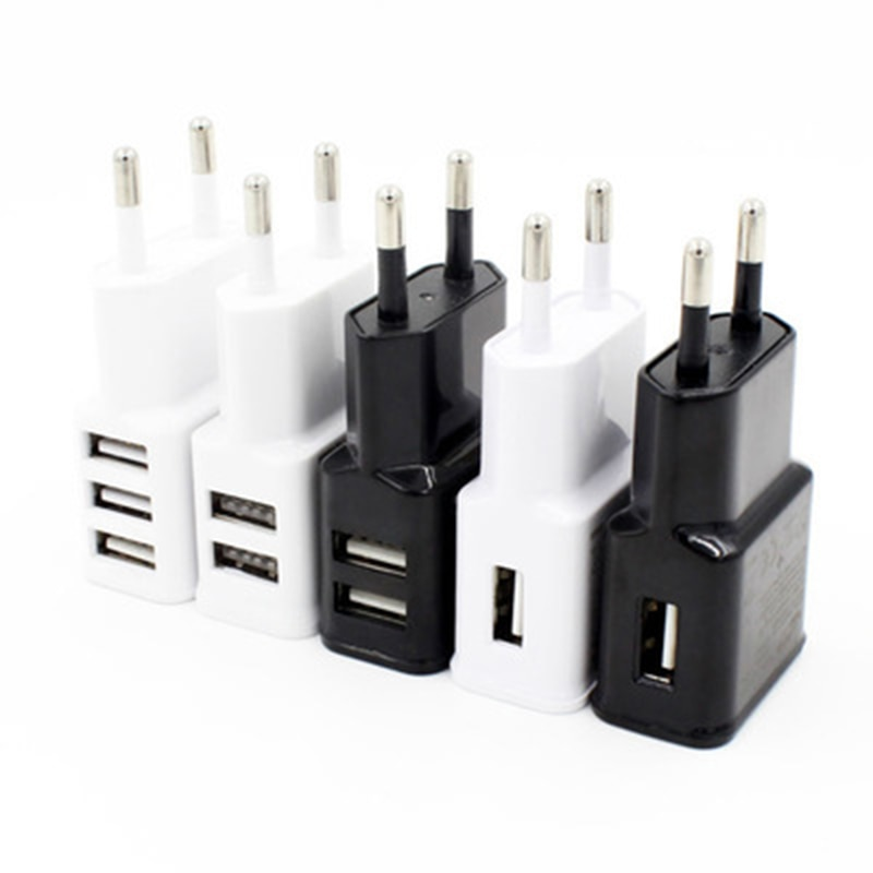 AC DC Universal 5 V Volt Power Adapter Supply Double USB Charger 5V 2A USB Power Adapter Supply 220V TO 5V Converter For phone
