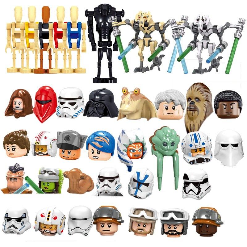Star Wars Anakin pot blocs de construction figurines daction vente unique