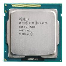 Pour Intel Xeon E3-1270 E3 1270 CPU 3.4GHz 8M 80W LGA 1155 Quad-Core serveur CPU