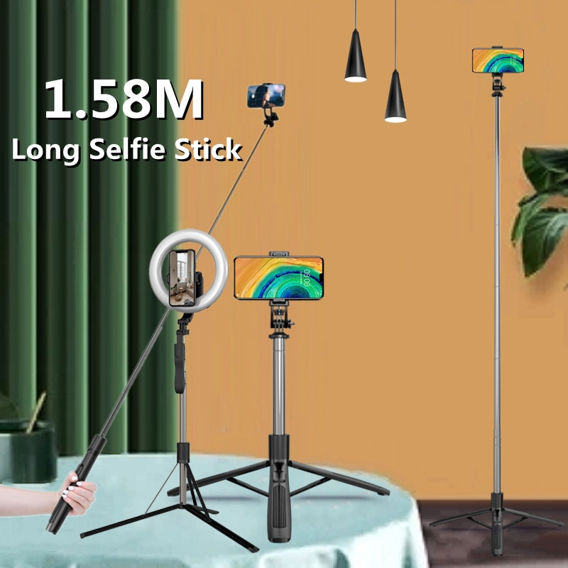 Holder for Phone Stand Desktop Live Broadcast Bracket Fill Light with Mobile Phone Clip High-definit