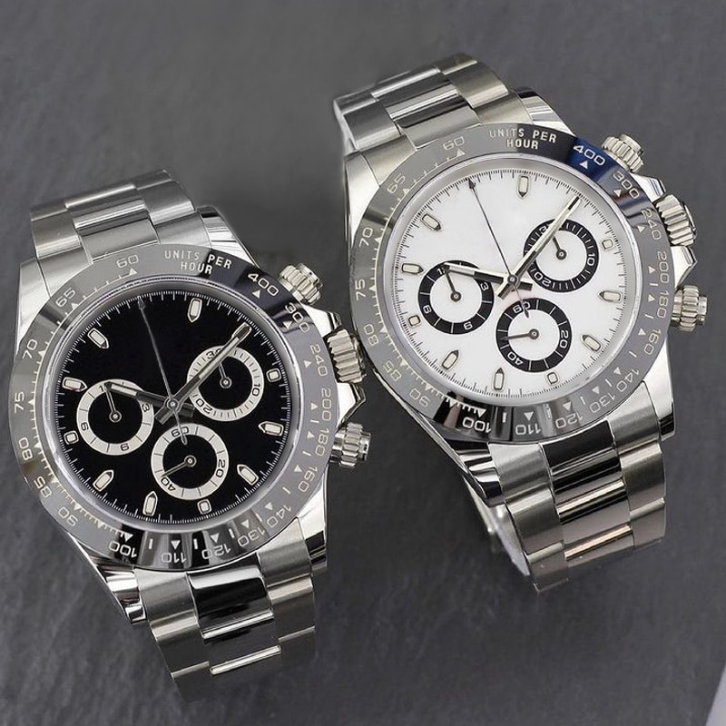NEW SILVER WATCH AAA QUALITY AUTOMATIC SELF WINDING DAY STAINLESS STEEL TONA WATCHES ALL SMALL DIALS WORKS