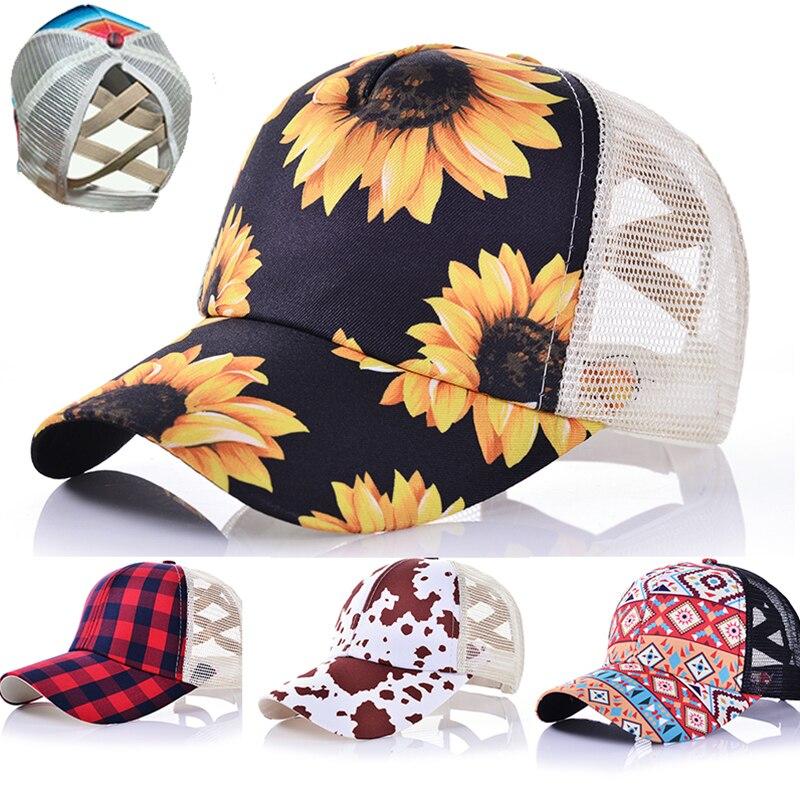 2020 été casquette de Baseball hommes plein chapeau de relance femmes queue de cheval camionneur casquettes Hip Hop papa chapeau maille os