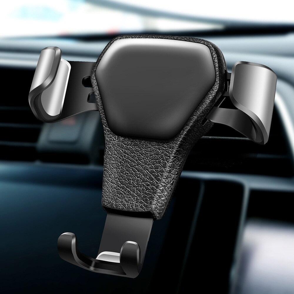 Pues Wonderlife, la gravedad soporte para coche para teléfono en Clip de ventilación de aire de coche montaje en magnético móvil teléfono titular celular soporte para iPhone