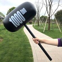 1 pièces grand marteau gonflable drôle créatif 1000 tonnes Air marteau jouets pour enfants fête nouveauté & Gag jouets ballons approvisionnement cadeau