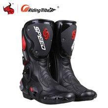 Мужские байкерские ботинки для верховой езды; Мужские ботинки для мотокросса; Ботинки для мотогонок; Ботинки для езды на мотоцикле; Botas; Ботинки для верховой езды