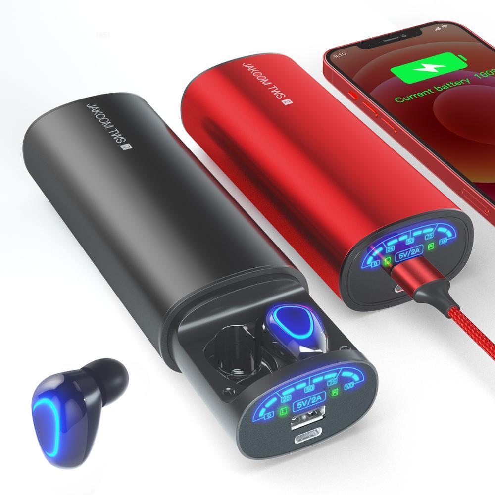 Verdadeiro sem Fio Fone de Ouvido Jakcom Power Bank Super Valor Como Frete Grátis Ps5 Gadgets Tws2
