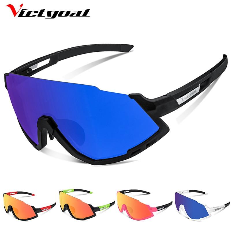Gafas de ciclismo polarizadas victorianas UV400 gafas de ciclismo para hombres gafas de sol deportivas para bicicleta de carretera MTB para correr y pescar gafas 5 lentes