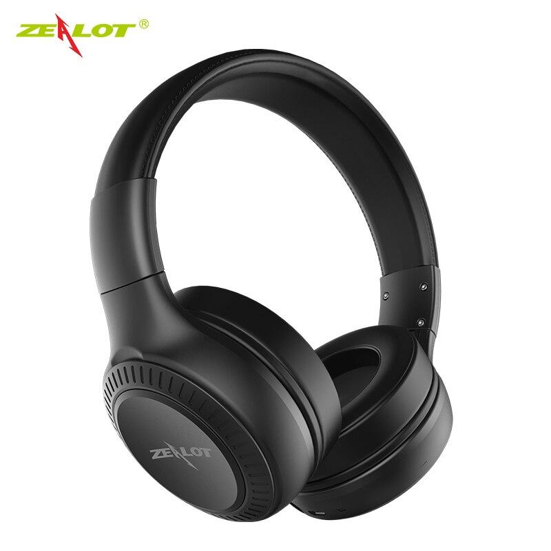 Gemelos ZEALOT B20, inalámbricos por Bluetooth 5,0, HIFI sonido estéreo con altoplante...
