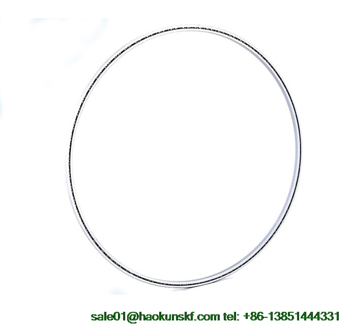 KG055AR0/KG055CP0/KG055XP0, محامل رقيقة القسم (5.5x7.5x1 in)(139.7x190.5x25.4mm) CNC آلة أداة محامل نوع مفتوح