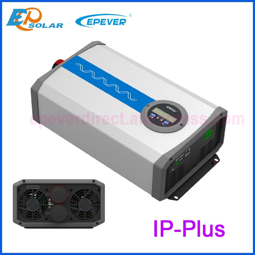 EPEVER جديد IPower العاكس 2000W IP2000-42 زائد IP2000-22-Plus IP2000-12 زائد DC 12v 24v 48v إلى AC 220v 230v 240v موجة جيبية نقية