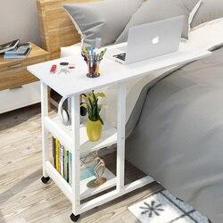 Cama preguiçosa para laptop com elevação, mesa de computador, quarto simples, mesa de cabeceira portátil