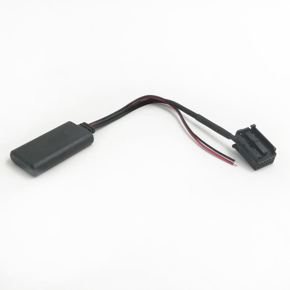 Biurlink Z4 Radio Device AUX Rear Port 12Pin Bluetooth Aux HIFI Cable Adapter For BMW E39 Z4 E85 X3 E83 MINI Cooper