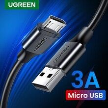 Ugreen Micro Usb Kabel 3A Snel Opladen Usb Data Kabel Mobiele Telefoon Opladen Kabel Voor Samsung Htc Lg Android Tablet usb Draad