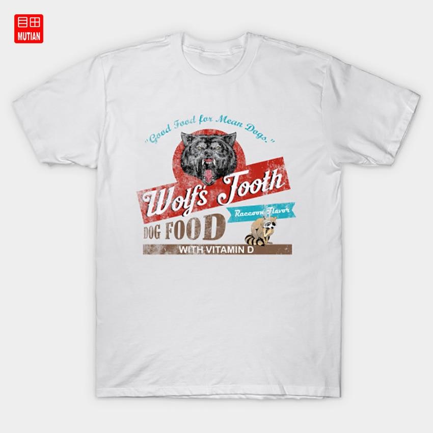 Wolfs Tooth Dog Food, distressed T-Shirt Pit Bull Pitbull Dog Dogs Quentin Tarantino Dog Food Tarantino Gift Brad Pitt Fan