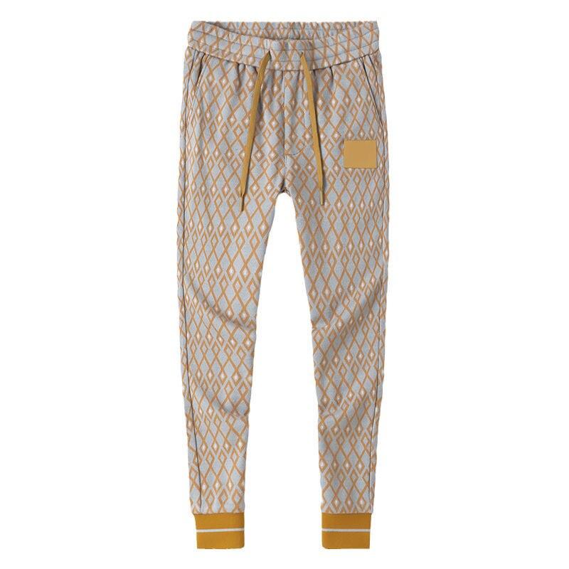 Мужские повседневные брюки, осень 2021, модные мужские осенне-зимние красивые удлиненные модные тренды для похудения