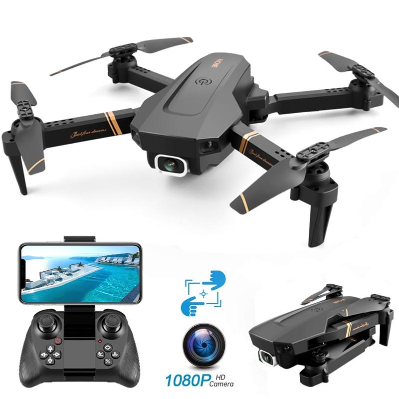 Dron con cámara profesional 4k HD gran angular, 4k, WIFI, vídeo en...