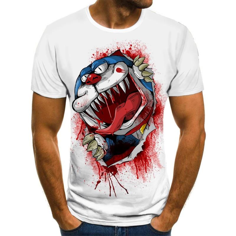 2021 summer style men's women's fashion short sleeve funny t-shirt 3d printing casual t-shirt fishing 3DT-shirt  XXS-6XL