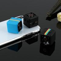 Мини IP-камера SQ11, Спортивная DV-камера с датчиком ночного видения, HD 720P, маленькая микро-камера, видеорегистратор движения SQ 11
