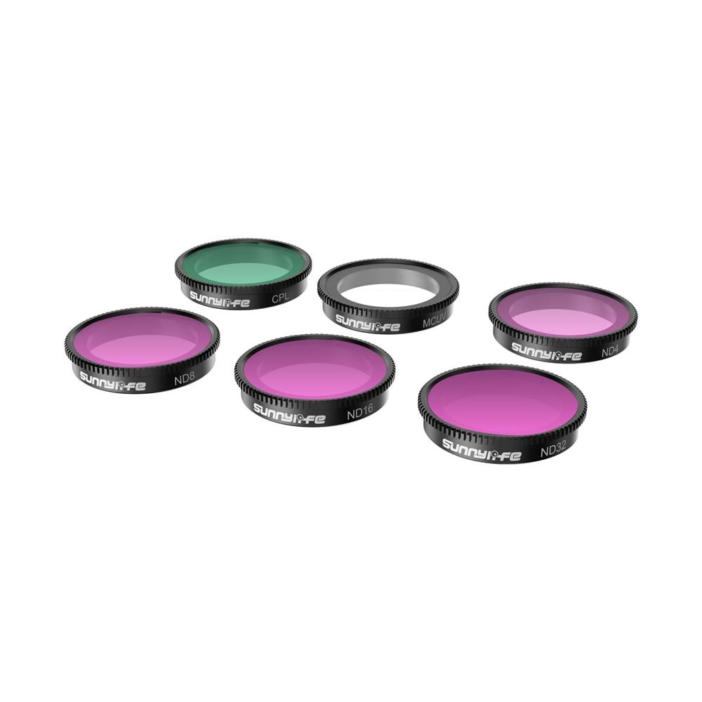 ل Insta360 الذهاب 2 عدسة تصفية UV + CPL + ND4/8/16/32 عدة حامي فيديو عمل صغير ل Insta360 الذهاب 2 كاميرا الملحقات