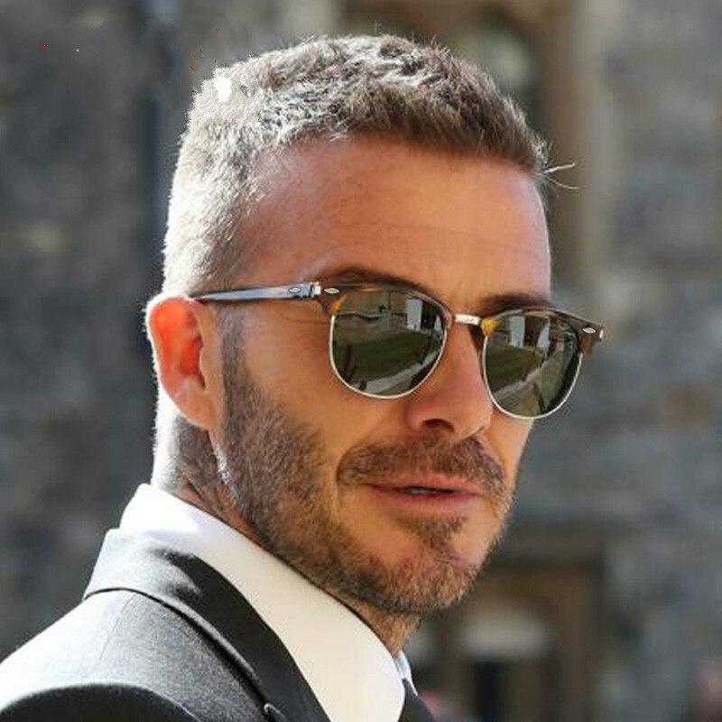 Polarized Sunglasses Men 2020 Brand Designer Semi Rimless Classic Sun Glasses Women lentes de sol ho
